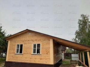 Проект «Хутор», 6×8 м, д. Лыткино