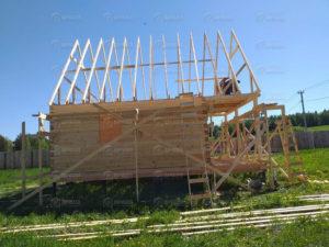 Дом из бруса 6×8 м