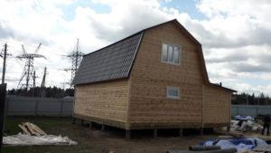 Дом 9×9 м, д. Лопотово