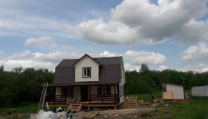 Дом 9×9 м, д. Макшеево