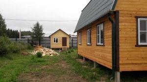 Дом 9×9 м, д. Повадино