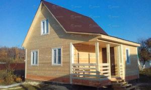 Дом из бруса, проект № 8
