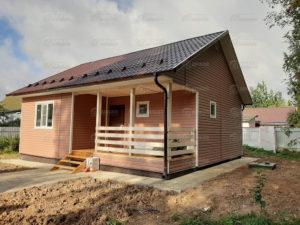 Каркасный дом для постоянного проживания, п. Радумля